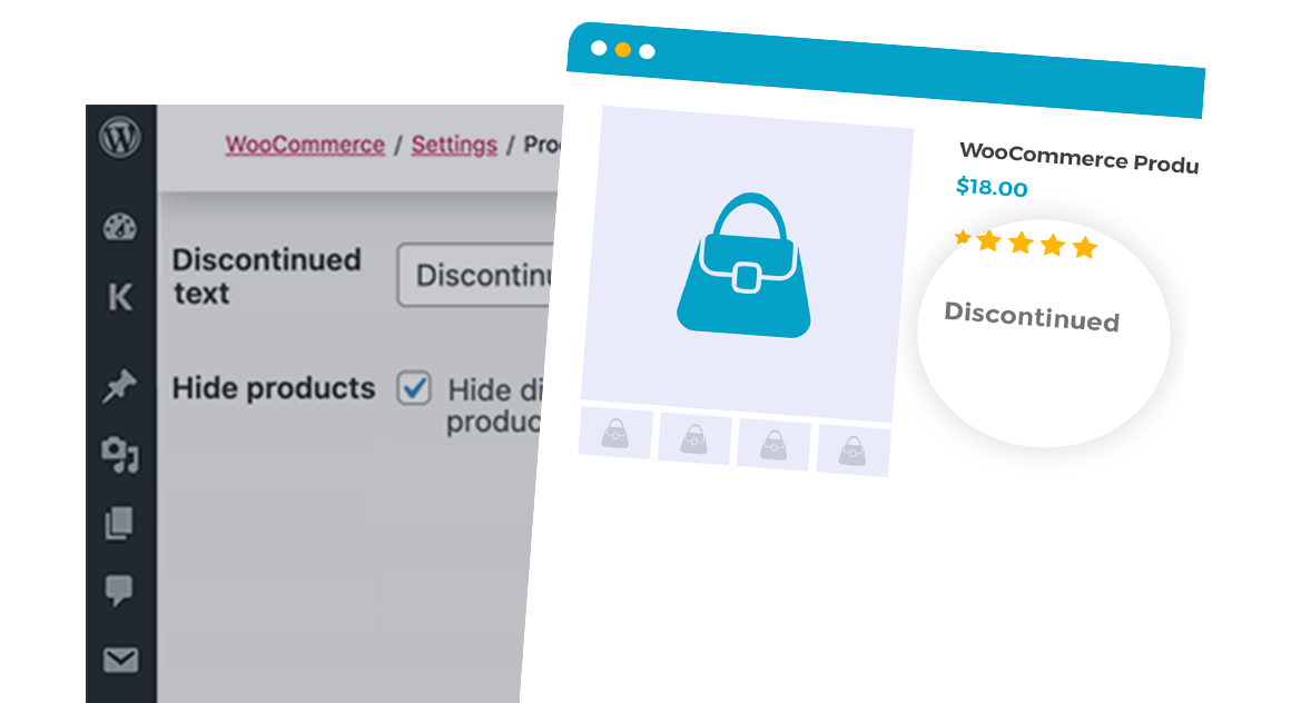 WooCommerce Discontinued Products plugin